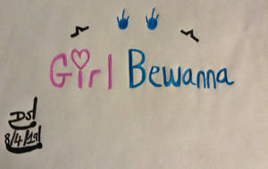 Girl Bewanna Logo by DazzyADeviant