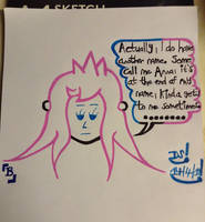 Girl Bewanna #1 - Some call me Anna (B side) by DazzyADeviant