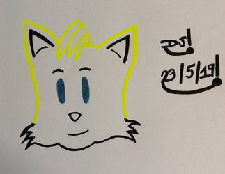 Tails Drawing by DazzyADeviant