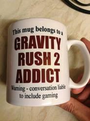 Gravity Rush 2 Mug by DazzyADeviant