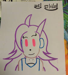 Freedom Planet - Lilac Drawing