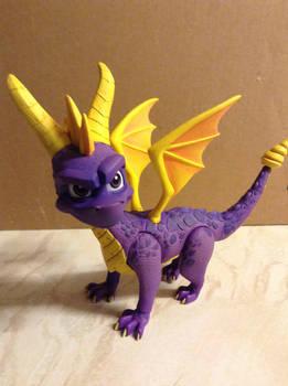 Spyro The Dragon Figure