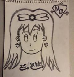 Mystery Gemini,  Gem Character Drawing,