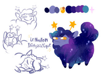 Mouton Intergalactique by LeMoutonDeLaGalaxie