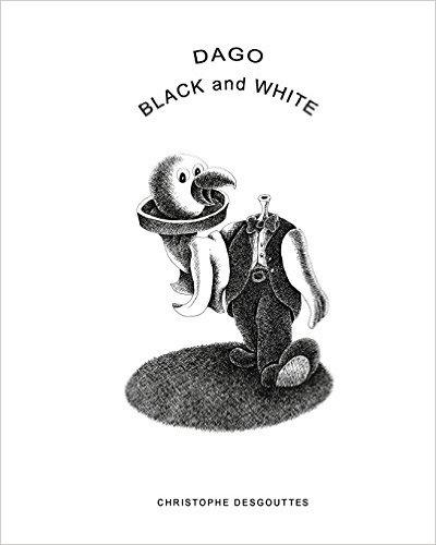 Dago White Black Little by dagoprod