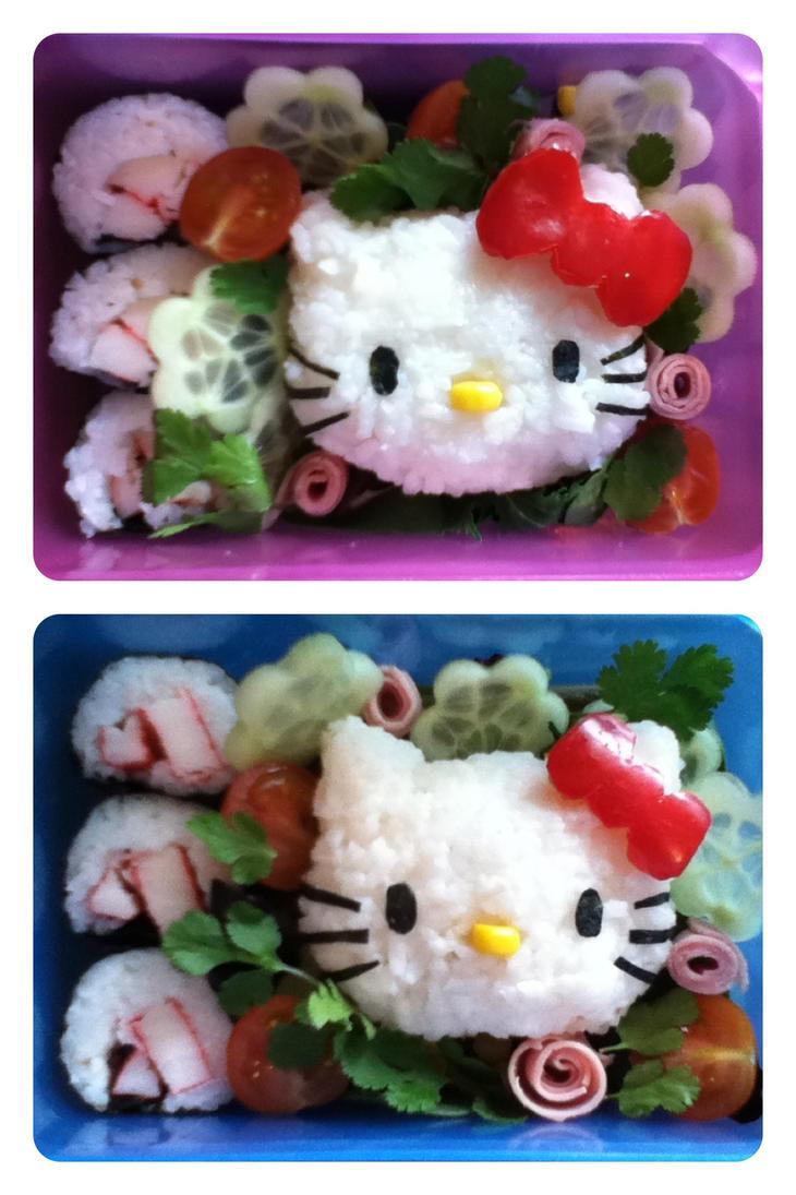 Bento ~ Charaben ~ Hello Kitty (Sanrio) by mitsubachichan