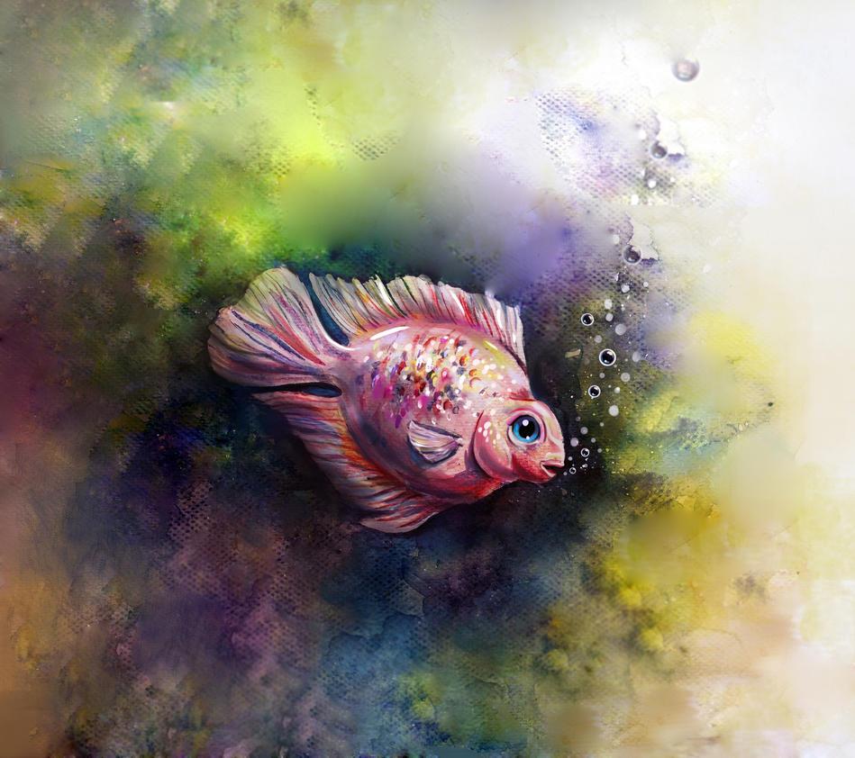 Fish by shakeemilk