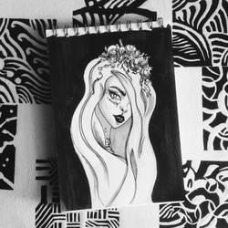 inktober sketch by shakeemilk