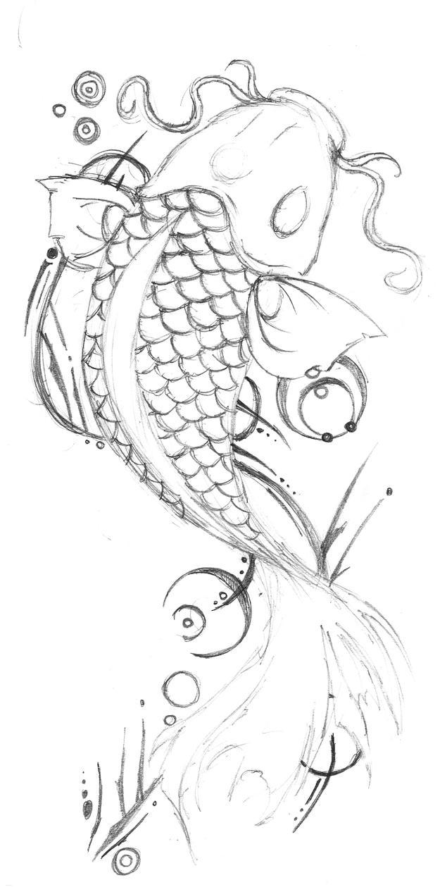 Koi Tattoo 2 by THeFoXHounD on DeviantArt