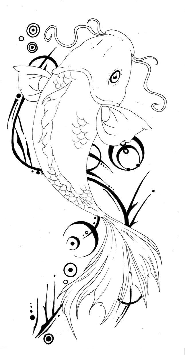 Koi Tattoo 100 By THe FoX HounD On DeviantArt