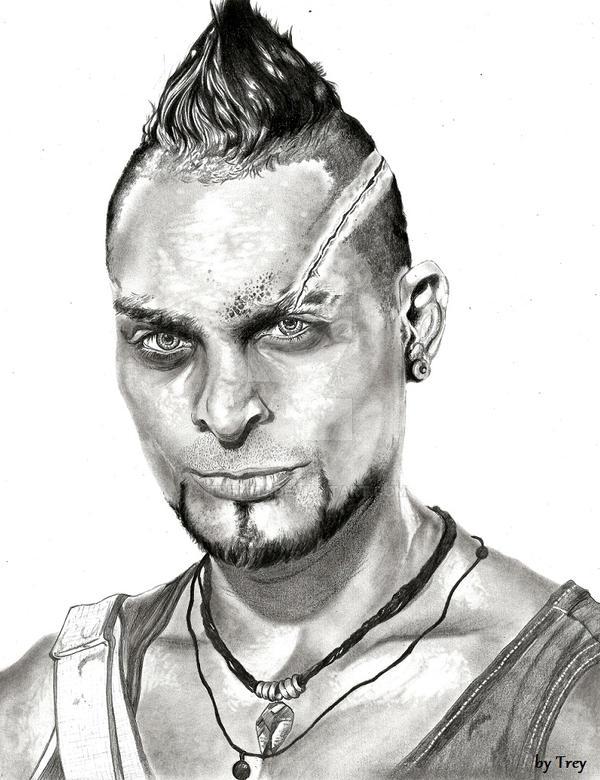 Far Cry 3 - Vaas Montenegro / Michael Mando by Trey619 on ...
