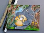 # Totoro # by Trey619