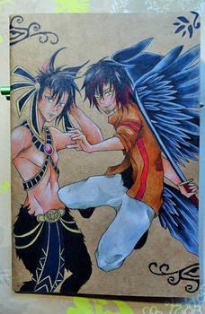 Notebook ~ Liron and Akito