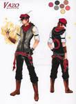 Character Sheet: Vazo (Remake)