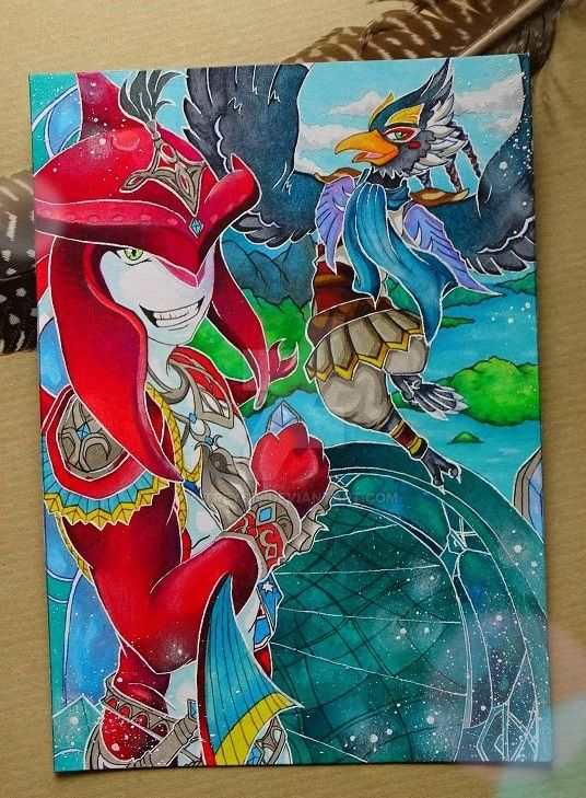 The Legend of Zelda BOTW ~ Two old friends by Trey619