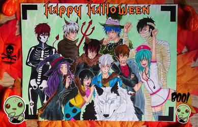 Happy Halloween OC Art