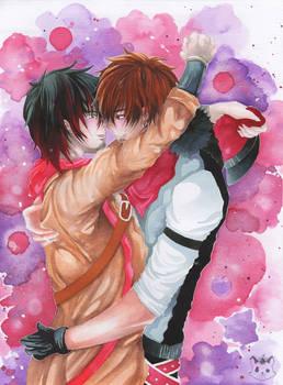 OC Pair Art Akito and Vazo