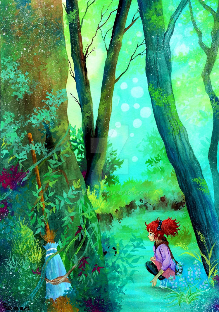 Hidden Secrets - Mary and the Witch's Flower by Trey619