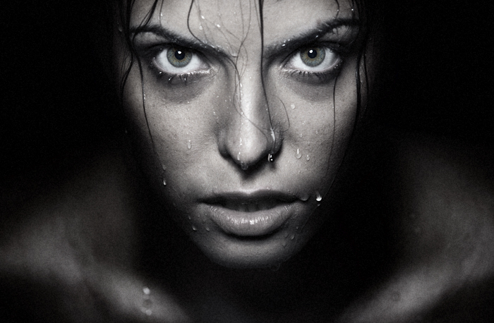 Dark Portraits Photography Dark water by Novic