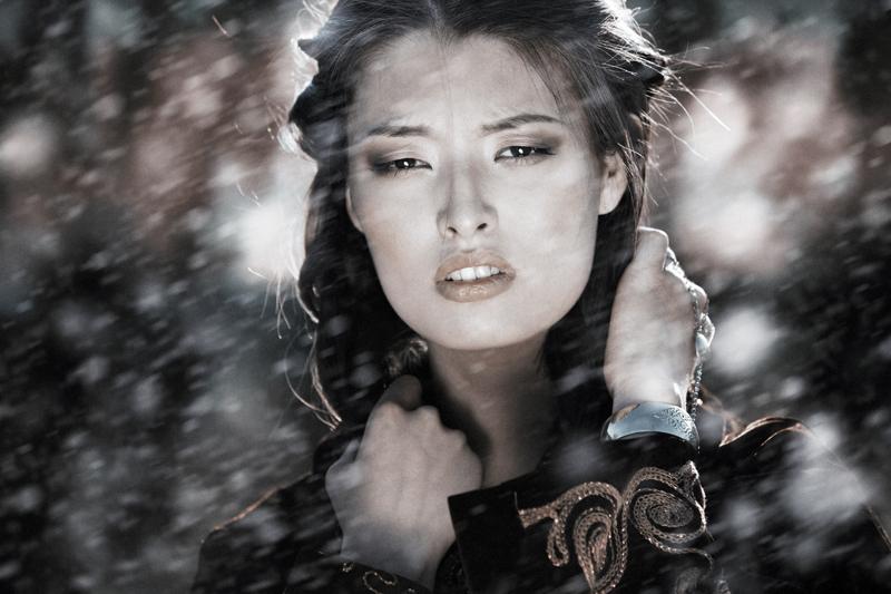 Kazakh girl by Novic