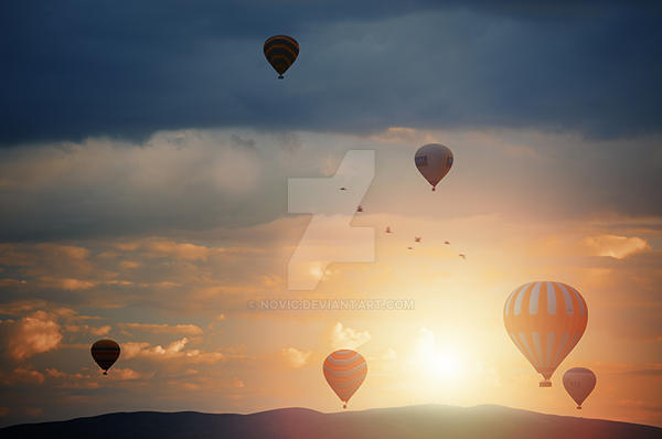 Air balloon festival by Novic