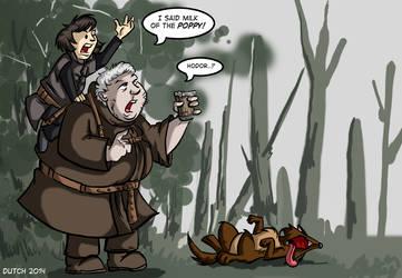 Hodor Misunderstands.
