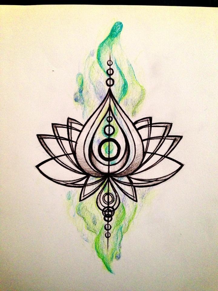 Line Art Lotus : Lotus tattoo by simisketches on deviantart