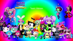 Team heroes!