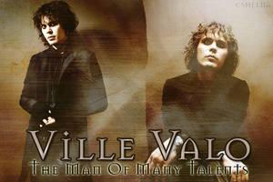 Ville Valo Wallpaper by VampiressBella