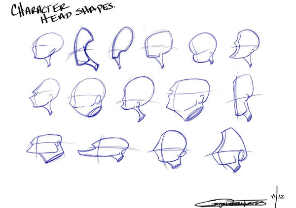 Character Design Head Shapes : Pin by lourdes velez on cg modeling pinterest drawing