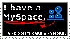 Not anymore, Myspace - Stamp by MrSmiley-992