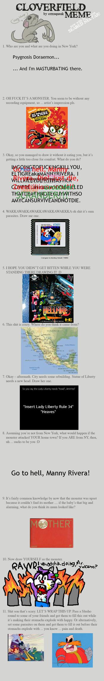 Cloverfield Memes, on my dA? by MrSmiley-992