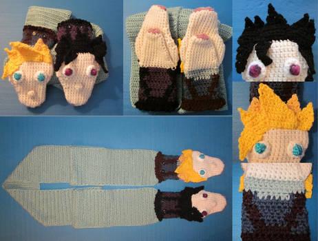-commission- ZackxCloud scarf