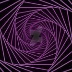 Hexagon Spiral Purple 2