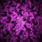 Triangle Grid Purple