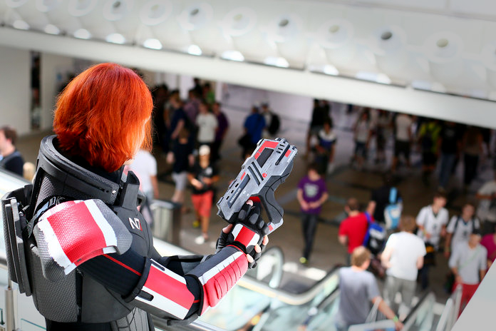 Cmdr. Valkyria Shepard on Duty II by LadyTenebraeTabris