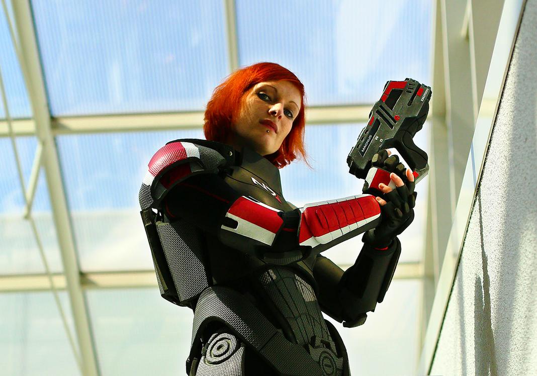 Cmdr. Valkyria Shepard on Duty III by LadyTenebraeTabris