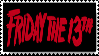 Friday the 13th stamp by Laukku2000