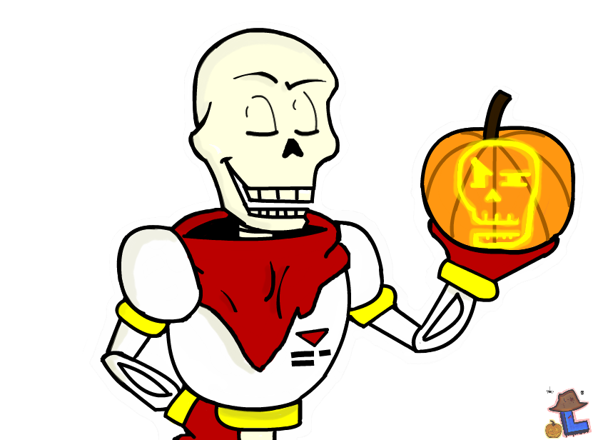 Undertale Halloween ~ Papyrus by Laukku2000 on DeviantArt