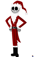 Jack Skellington Santa ~ The Nightmare Before Xmas