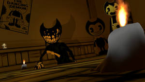 I summon you ink demon! ~BATIM sfm