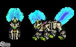 Skeleton Dog Ycho (oc) by Laukku2000