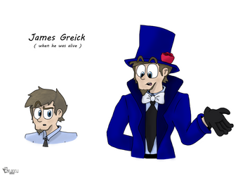 James Greick (when he was alive) by Laukku2000