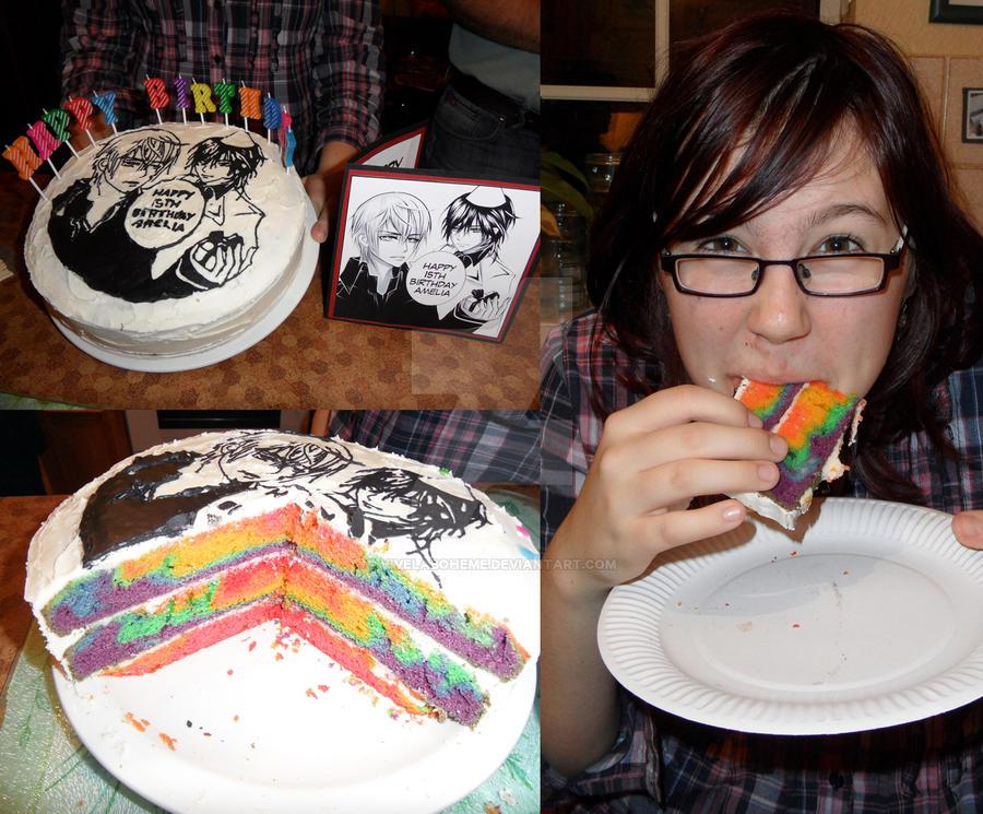 Vampire Knight Birthday Cake