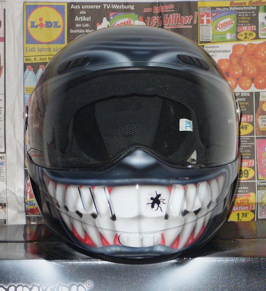 Motorcycle Helmet V2 By Sandmannder3 ...