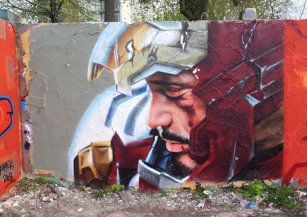 Iron Man by sandmannder3