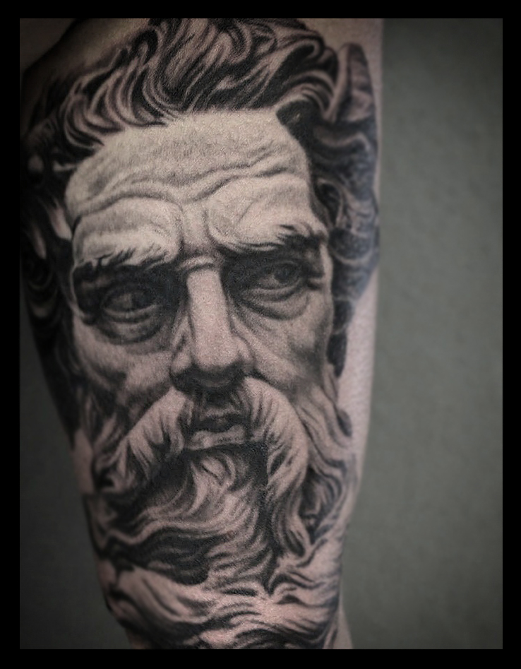 Poseidon Tattoo By Sandmannder3 On Deviantart