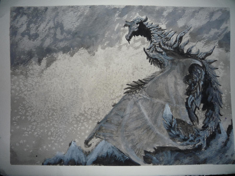 Alduin: The World Eater by BetrayedAnguish