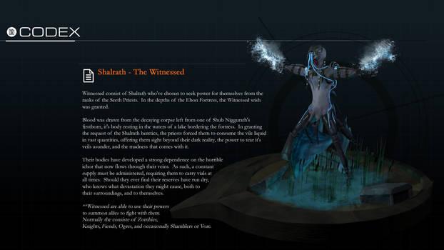 Shalrath Redux - The Witnessed