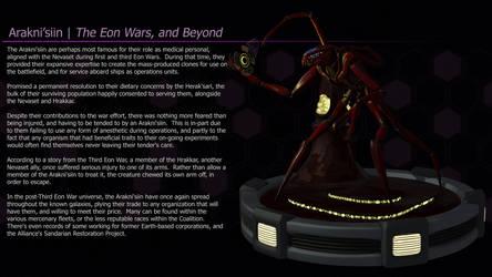 Arakni'siin | The Eon Wars, and Beyond